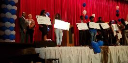 Local Attorney Distributes Scholarships to Dunbar HS Students