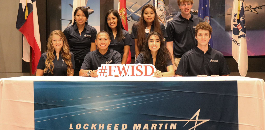 Eight FWISD Students to Join Lockheed Martin High School Internship Program