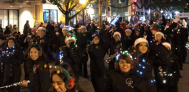 FWISD Participates In GM Financial Parade Of Lights