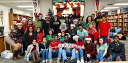 Southwest HS Student Council Presents Younger Children with Gifts This Christmas Season