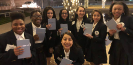 Fort Worth ISD Students Attend Book Tour Presentation by Michelle Obama