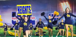 AHHS Cheerleaders Compete in Spirit State Championship