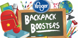 Kroger Launches Backpack Boosters Drive