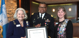 Fort Worth ISD's Lt. Col. Richard Crossley, Jr. Receives DAR Distinguished Citizen Medal