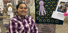 DHJ Students Compete in County Livestock Show, Youth Fair