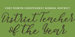 District Teacher of the Year Applications Due March 6