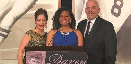 Trimble Tech HS' Mikayla Wilson Recognized at Davey O'Brien Awards Dinner