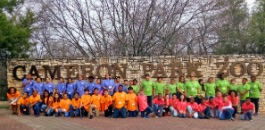 East Handley Elementary fifth graders travel to Cameron Park Zoo and Inner Space Cavern on an Education in Action Discover Texas Field Trip