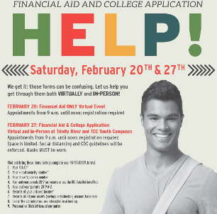 FWISD To Host In-Person, Virtual Financial Aid Help Sessions This Saturday