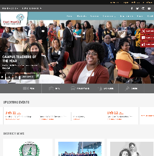 FWISD.ORG Renovated for an Enhanced User Experience