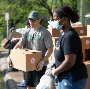 Food Distribution to Families at Four Mobile Pantry Sites this Saturday