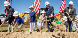 Fort Worth ISD's Overton Park Elementary Groundbreaking Ceremony Attracts Enthusiastic Crowd