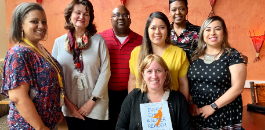 Teachers Lunch with Scholastic Senior VP, Author