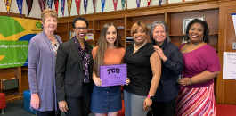 Carter-Riverside Senior Receives Full Ride to TCU