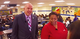 Stand-Out FWISD Employee Serves Students Much More than Lunch