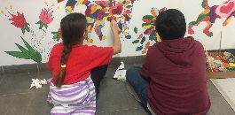 Students Give Colorful New Look to the Fort Worth Animal Shelter