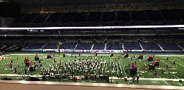 Southwest HS Raider Band Gives All At State Contest