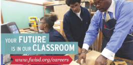FWISD To Host Secondary Hiring Fair For Teachers, November 28