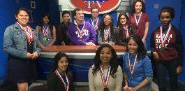 Broadcast/Journalism/Media Program of Choice Brings Home the Medals