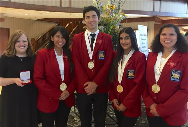 CTE Students from Six FWISD Schools Advance to Nationals