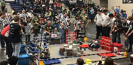 Trimble Tech Advances to Super-Regional Robotics Contest