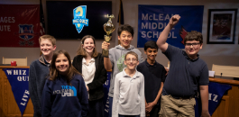 McLean Wins Middle School Whiz Quiz