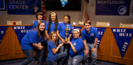 Daggett Montessori Wins Sixth-Grade Whiz Quiz