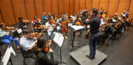 Terrell Academy Orchestra, FWSO Rehearse Side By Side