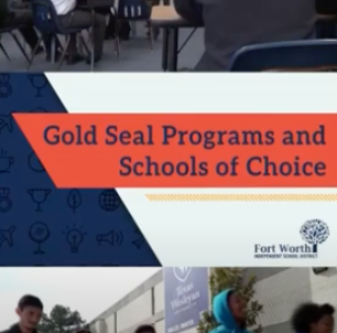 FWISD Gold Seal Postcards Headed To Student Mailboxes