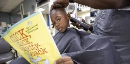 'Reading with Barbers' Program Featured in National Education Publication