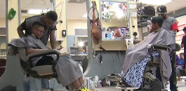 """Reading with Barbers"" Keeps Students on the Cutting Edge"
