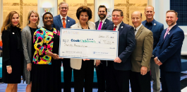 $70,000 Donated To Cook Children's On Behalf Of FWISD