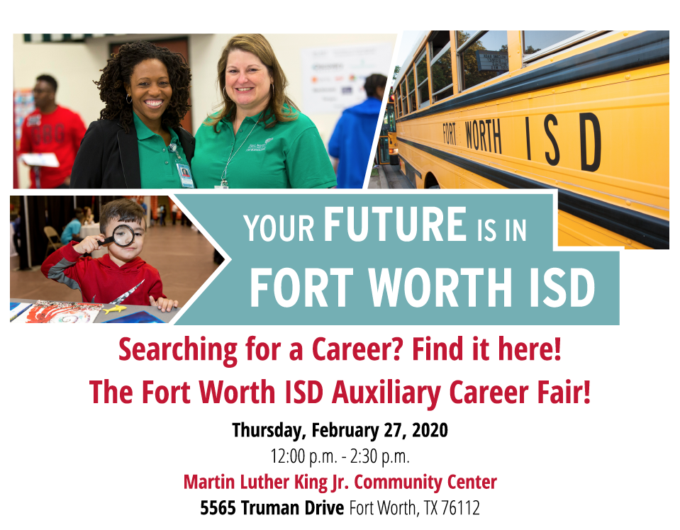 Your Future is in the Fort Worth ISD
