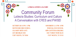 Nearly 100 Attend FWISD's Latino Studies Community Forums