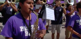 March-A-Thon Part Two: Arlington Heights High School Band