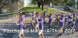 High School Band March-A-Thon Entertains Neighbors for Miles