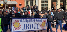 FWISD Students Participate in 34th Annual MLK Day Parade