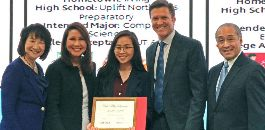 TABS Senior to Receive Toyota Awards Scholarship