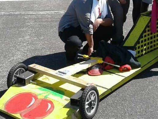 Poly Soap Box Car Derby Team Wins 1st Place!