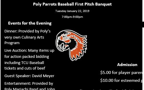 Support the Poly Baseball Team
