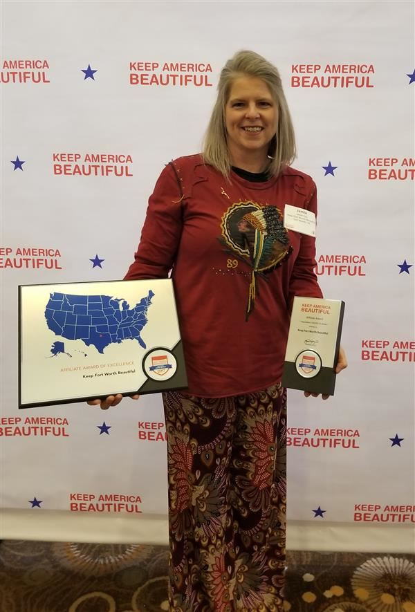 Keeping America Beautiful Award Goes to Poly!