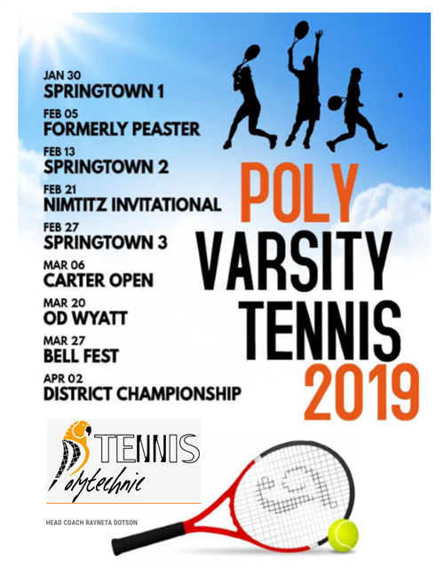 Poly Tennis 2020