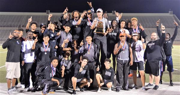 Boys Track District Champs