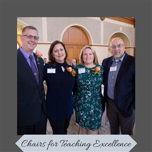 Three South Hills HS Teachers Awarded Chairs for Teaching Excellence