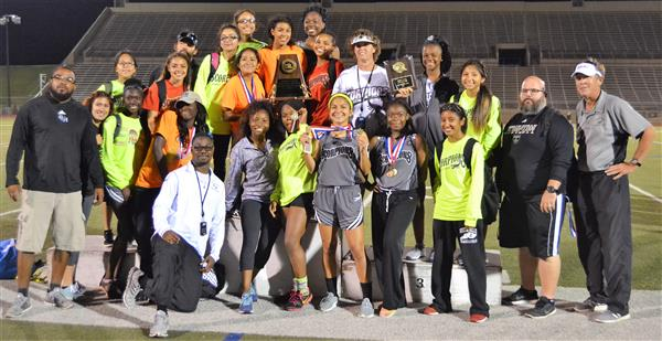 Girls Track District Champs