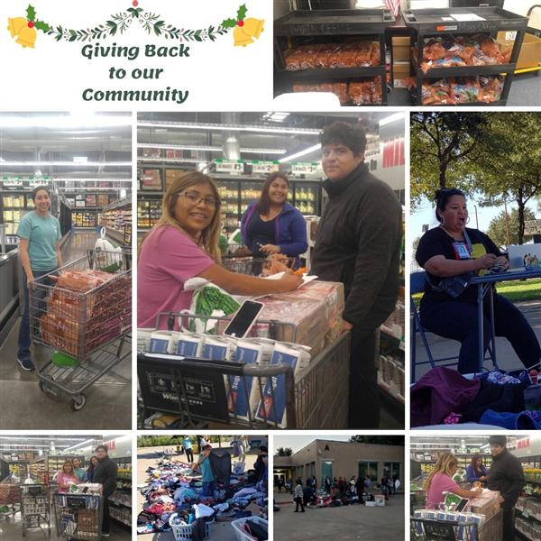 Giving Back to the Community - One Basket at a Time