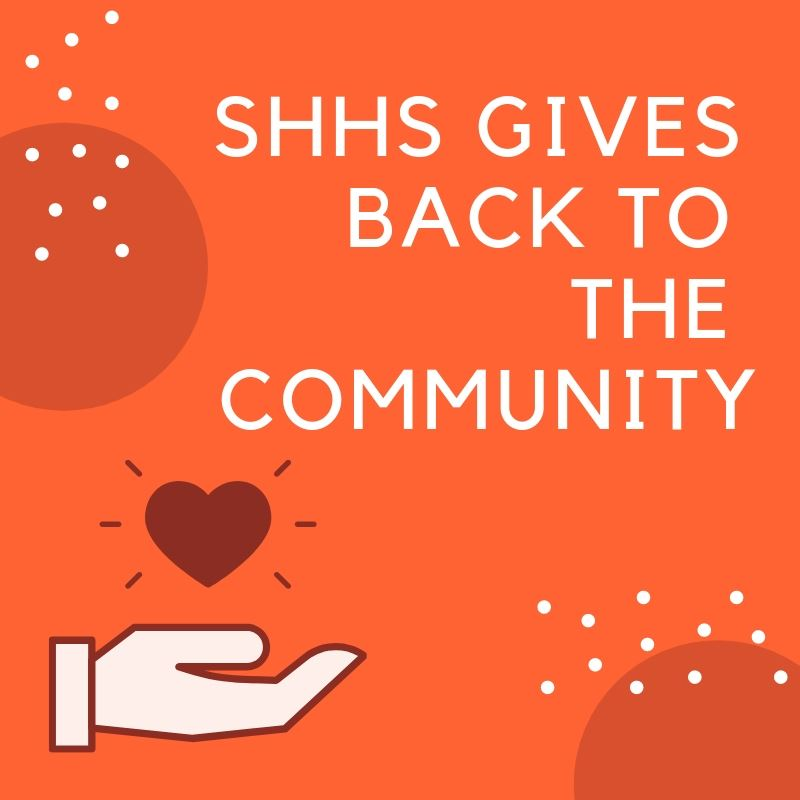 SHHS Gives Back to the Community