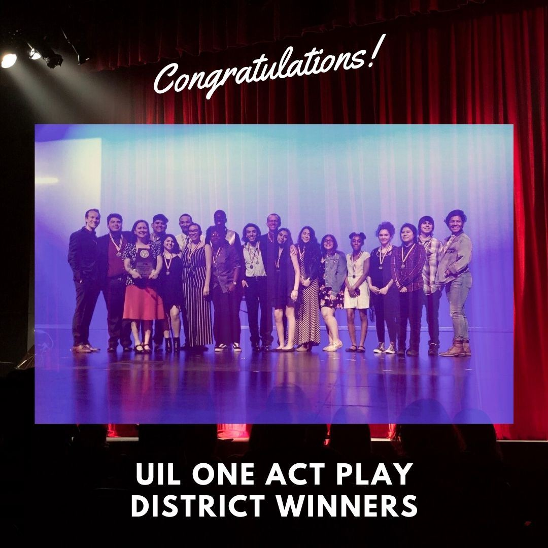 SHHS Wins District UIL One Act Play Competition