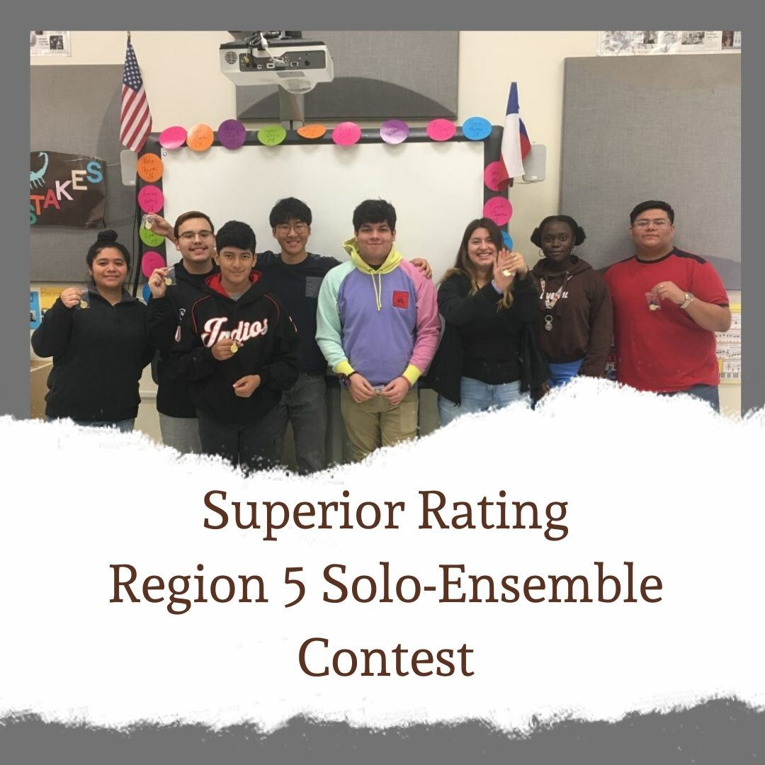 State Solo Contest Qualifiers