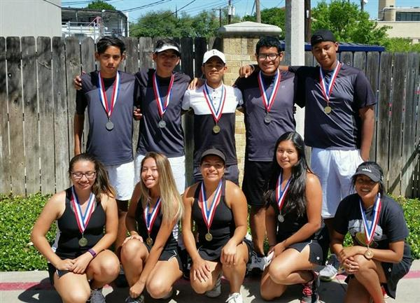Tennis 7-5A District Championship Resutls